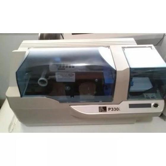 Comprar Impressora de Cartão Pvc Zebra P330i Saúde - Impressora de Cartão Pvc Fargo