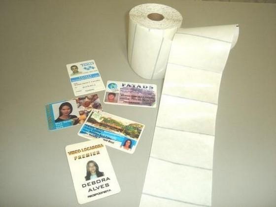 Loja Que Faz Material para Produção de Crachás em Pvc Sé - Material para Impressora de Cartão