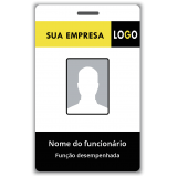 cartão de acesso personalizado valor Piracicaba