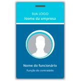 fabricante de crachá para treinamento Vila Curuçá