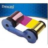 fita de impressão datacard colorido preço Aclimação