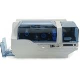 impressora de cartão pvc zebra p330i Aclimação