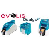 impressora de crachá evolis dualys 3