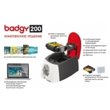 impressoras para cartão pvc evolis badgy200 Perus