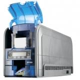 manutenção de impressora datacard